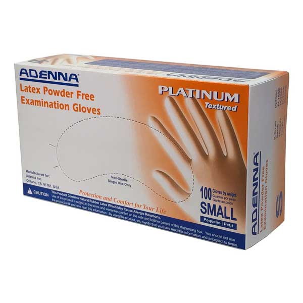 Microtextured Powder Free Latex Gloves