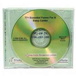 77+ Essential Forms for Sleep Center CD