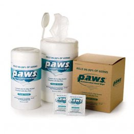 p.a.w.s. Antimicrobial Hand Wipes