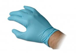 Nitrile Powdered Free Textured Exam Gloves