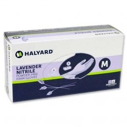 Lavender Nitrile Exam Gloves