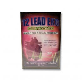 12 Lead EKG Interpretation DVD