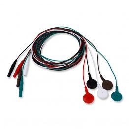 Ultra-Thin Reusable Lead Wires (10 Pack)